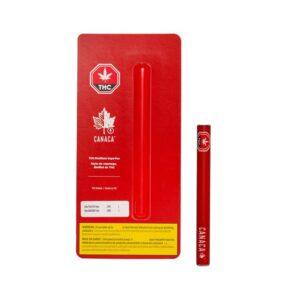 CANACA THC DISTILLATE DISPOSABLE VAPE PEN [0.5G]