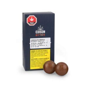 EDISON BYTES MILK CHOCOLATE TRUFFLES DUO PACK [24G]