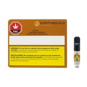 NORTHBOUND CANNABIS EXPLORE SUPER SKUNK X GHOST TRAIN HAZE VAPE CARTRIDGE [0.4G]