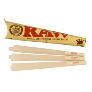 RAW CONES KING SIZE (3PACK)